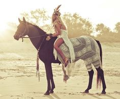 Boho paard