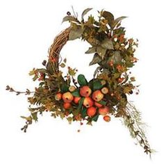 Pomegranate Autumn Wreath   http://www.gifts.com/search/product/Pomegranate-Autumn-Wreath-Frontgate-Christmas-Wreath?prodID=388992