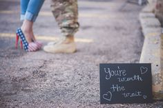 You're Worth the Wait: A Predeployment Engagement Shoot