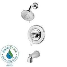 Pfister Tub and Shower Faucet R90-WSTN2C Polished Chrome (Grey)