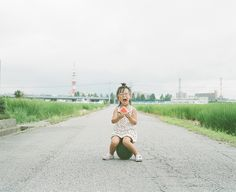 sits on a watermelon and eats a watermelon Japanese Kids, Love Film, Water Me, Red Riding Hood, Children Photography, Cute Kids, Watermelon, Beautiful People, Baby Kids