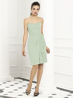 In Celdon After Six Bridesmaids Style 6668 http://www.dessy.com/dresses/bridesmaid/6668/#.Uy5yfp8o7MI
