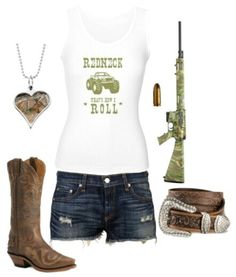 Country Outfit. Necklace is cute