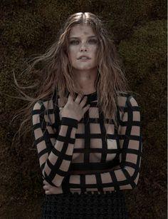 Nina Agdal by Alexander Saladrigas for Vulkan Issue #3 2015