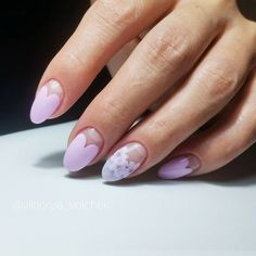 18 Cute Nail Designs that You Will Like for Sure ★ Cute Nail Designs with Flowers Picture 2 ★ See more: http://glaminati.com/cute-nail-designs/ #cutenails #cutenaildesigns