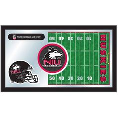 "Northern Illinois Huskies 15"" x 26"" Football Mirror"