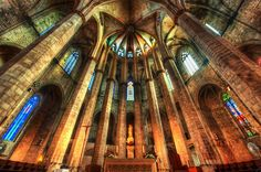 Here is another amazing place in Barcelona, Spain — this is the famed Santa María del Mar Cathedral. I do like taking photos in these old churches, and I hope one day to photograph the inside of the Sagrada Família. - Barcelona, Spain - Photo from #treyratcliff Trey Ratcliff at http://www.stuckincustoms.com/