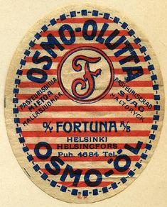 #olut #etiketit #beer #labels #Helsinki #Fortuna #Osmo