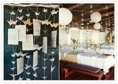 #origami #wedding #eventdesign