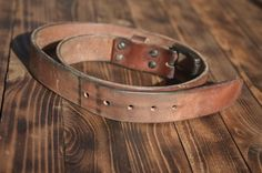 Oh the #patina. Only about 7 months daily wear on our big hoss belt.