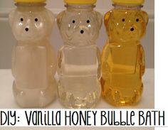 Younique by Kristen Morton: DIY: Homemade Vanilla Honey Bubble Bath