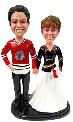 custom hockey wedding cake toppers hockey wedding stuff on hockey wedding hockey 13202