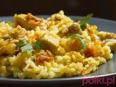 Risotto z kurczakiem - przepis, składniki, przygotowanie -Przepis