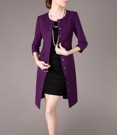 Women's Black/Beige Blazer , Work Long Sleeve | Blazers, Earrings ...