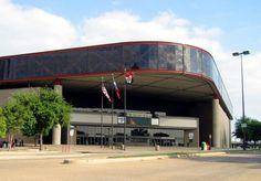 Reunion Arena. Dallas, Texas. Old home of the Dallas Mavericks, Dallas Stars and, best of all, the Dallas Sidekicks.