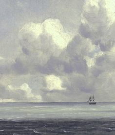Harwich, The Low Lighthouse and Beacon Hill (detail); by John Constable. He was a master painter of clouds and cloud formations. Landscape Art, Landscape Paintings, Edward Hopper, English Romantic, English Artists, Seascape Paintings, Big Sky, Beautiful Sky, Impressionism