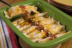 EDR Chicken Enchiladas