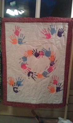 Quilt I made for 2012 Mission Conference