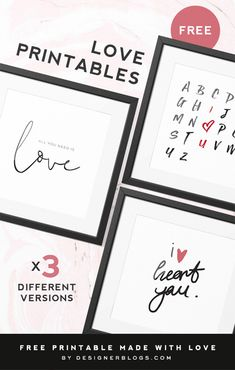 Love Printables available for Free Download post cover All You Need Is, Heart Quotes, Me Quotes, Valentine's Day Printables, Doodle Lettering, Appreciation, Distressed Kitchen, Doodle Ideas, Valentines