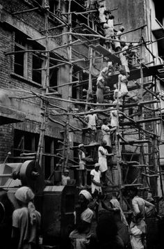 Henri Cartier-Bresson INDIA. Maharashtra. Bombay. 1947.