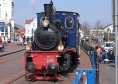 ボルクム, 蒸気機関車, 機関車, レール, 電車