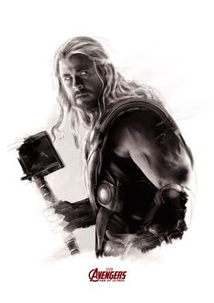 Avengers: Age of Ultron by Rich Davies - Thor