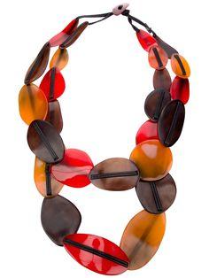 Monies Multicoloured Necklace - Bernardelli - farfetch.com