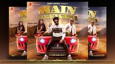 Cd Cover Designed For Main Deewana by Simranjeet Singh & Enzo Photoshop ...