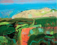Landscape  Claire Pamphilon  Brilliant day on clodgy point