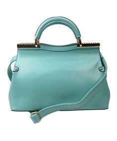 Blue Convertible Crossbody Bag