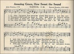 ❥ Amazing Grace, How Sweet the Sound! That saved a wretch like me! I once was lost, but now am found; Was blind, but now I see. — John Newton ~ Jesus alone can supply the grace we need for each trial we face. Church Songs, Church Music, Worship Songs, Praise And Worship, Amazing Grace Noten, Amazing Grace Sheet Music, Hymns Of Praise, Praise Songs, John Newton
