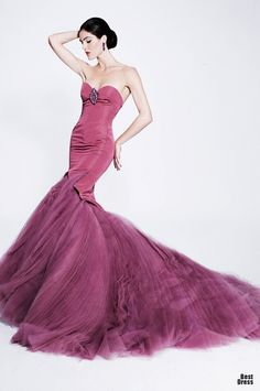 Zac Posen  Beautiful. Who could really wear it. Lucy and Ethel, come to mind.