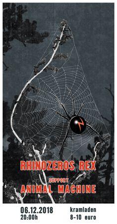 "Plakat ""Rhinozeros Rex"" | 2018 Graphics, Movies, Movie Posters, Animals, Art, Poster, Art Background, Animales, Graphic Design"