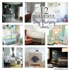 12 Beautiful Boy Nursery Ideas - Cherished Bliss