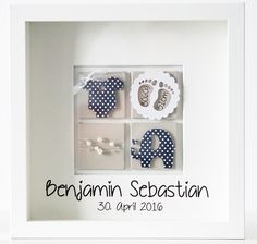 papier stempel co bilderrahmen zur geburt baby. Black Bedroom Furniture Sets. Home Design Ideas