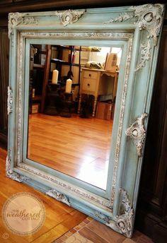 The Weathered Cottage - STUNNING mirror