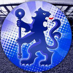 CFC Blue Lion Badge