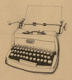 I will own a typewriter to type letters and make cards. someday i will.