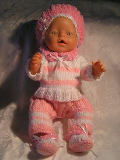 Puppenkleidung 4 Tlg. Gr.41-45 cm NEU (Baby Born) von Oma`s Puppenstube u.v.m. auf DaWanda.com