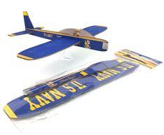 "BLUE ANGEL BALSA GLIDER Wingspan 12"" Us Navy Blue Angels, Gliders, Skateboard, Skateboarding, Skate Board, Skateboards"
