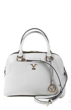 Versace Women's Satchel WHITE #Versace #Satchel