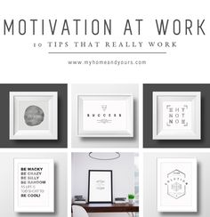 Motivation at work Tips that really work Office Motivational Quotes, Boost Creativity, Work Motivation, Printing On Fabric, Success, How To Plan, Mornings, Tips