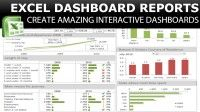 Excel Dashboard: How to Create a Dashboard in Excel | Udemy #Excel