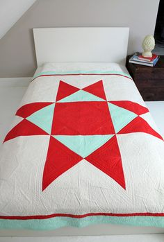 Ohio Supernova quilt pattern by Heather Jones at Olive and Ollie