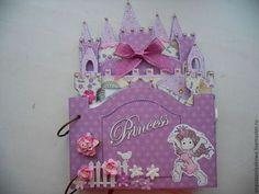 """Сказочный замок-фотоальбом для девочки """"ПРИНЦЕССА"""" - альбом-замок,альбом для девочки"""