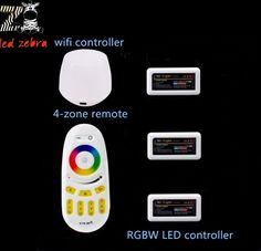 47.31$  Watch now - http://alixil.shopchina.info/go.php?t=32535965445 - led controller mi.light 2.4g rf remote+wireless wifi ibox+3pcs rgbw 4-zone led controller for rgbw led strip lamp bulb  #buyonline