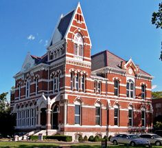 Evansville, Indiana: Haunted Library
