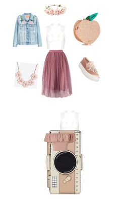 """Untitled #2"" by prokopyeva-katya on Polyvore featuring Steve Madden, J.Crew, Kate Spade, Topshop, Miss Selfridge and Forever 21"
