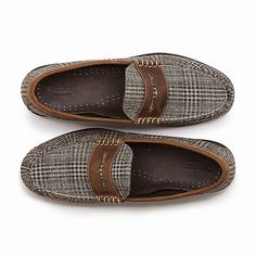 48d0a06776b Weejuns by Bass. Handcrafted. Special Edition Glen Plaid. Loafers For  Women