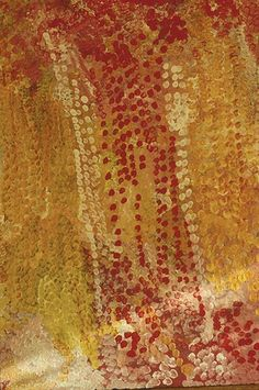 Australia - Emily Kame Kngwarreye's painting, Delmore Downs, NT. Photography by Stefano Scatà